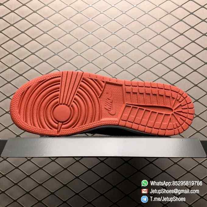 RepSnkrs Womens Air Jordan 1 Retro High OG GS Chicago 2015 SKU 575441 101 Varsity Red Upper Outsole White Midsole 05