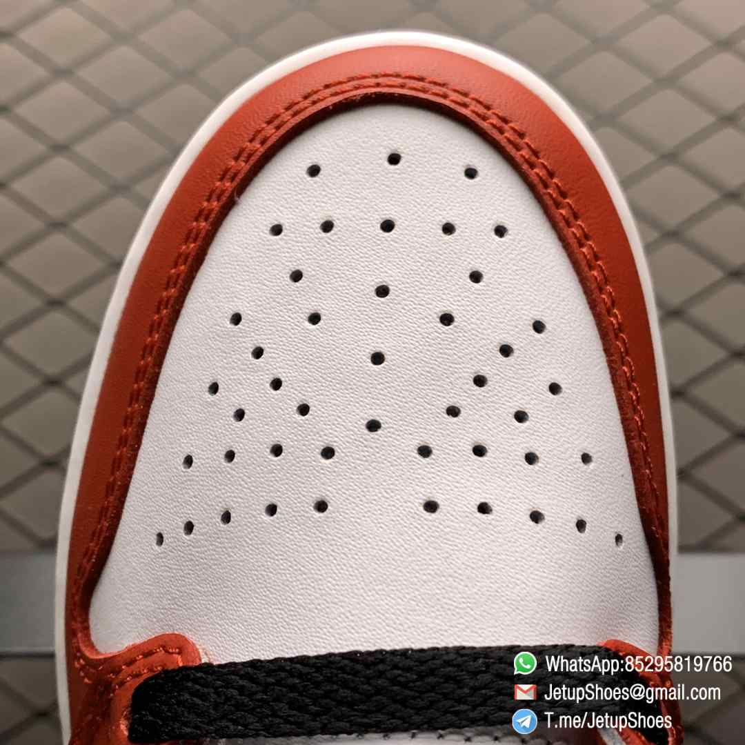 RepSnkrs Womens Air Jordan 1 Retro High OG GS Chicago 2015 SKU 575441 101 Varsity Red Upper Outsole White Midsole 06