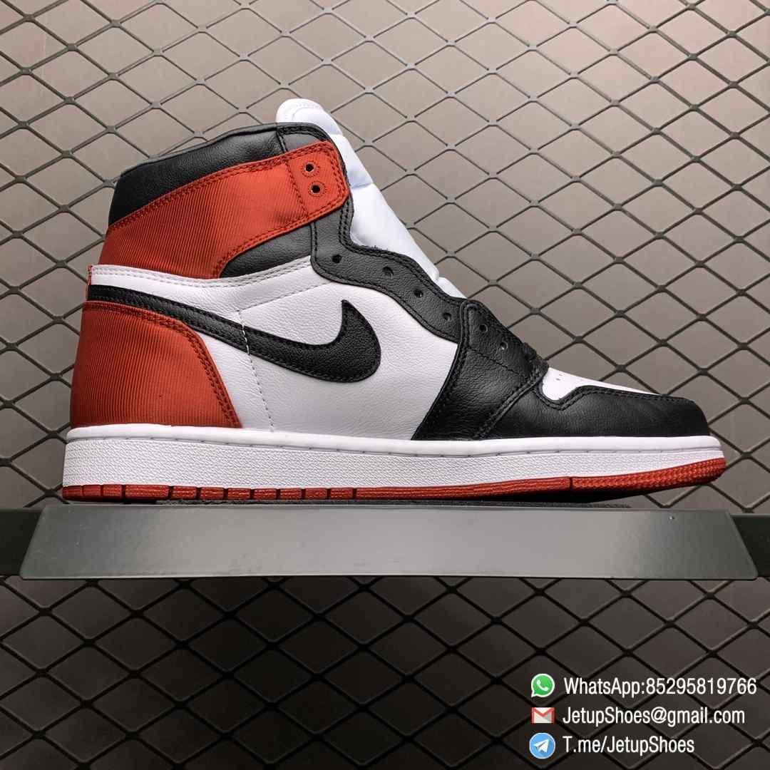 Top Clone Quality Sneakers Wmns Air Jordan 1 Retro High Satin Black Toe SKU CD0461 016 Super RepSneaker 02