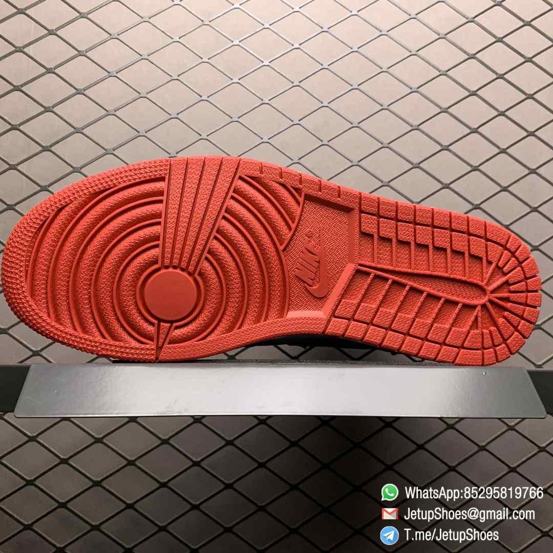 Top Clone Quality Sneakers Wmns Air Jordan 1 Retro High Satin Black Toe SKU CD0461 016 Super RepSneaker 03