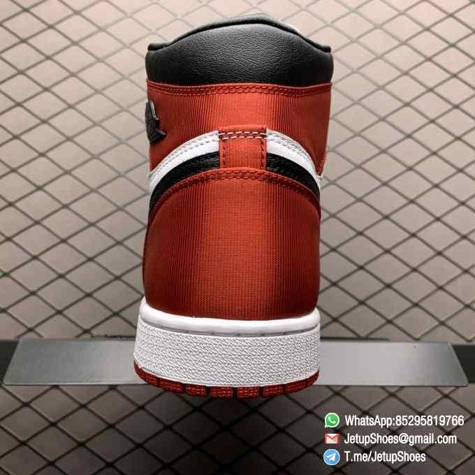 Top Clone Quality Sneakers Wmns Air Jordan 1 Retro High Satin Black Toe SKU CD0461 016 Super RepSneaker 04