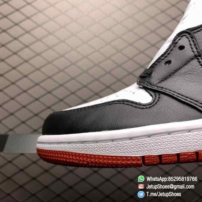Top Clone Quality Sneakers Wmns Air Jordan 1 Retro High Satin Black Toe SKU CD0461 016 Super RepSneaker 06