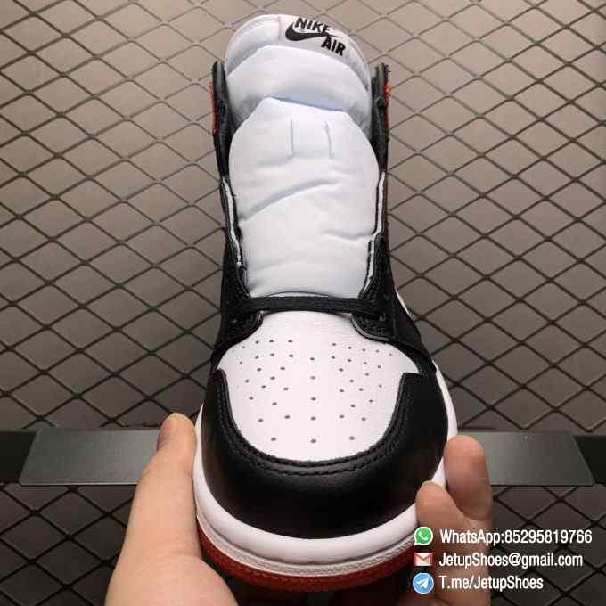 Top Clone Quality Sneakers Wmns Air Jordan 1 Retro High Satin Black Toe SKU CD0461 016 Super RepSneaker 08