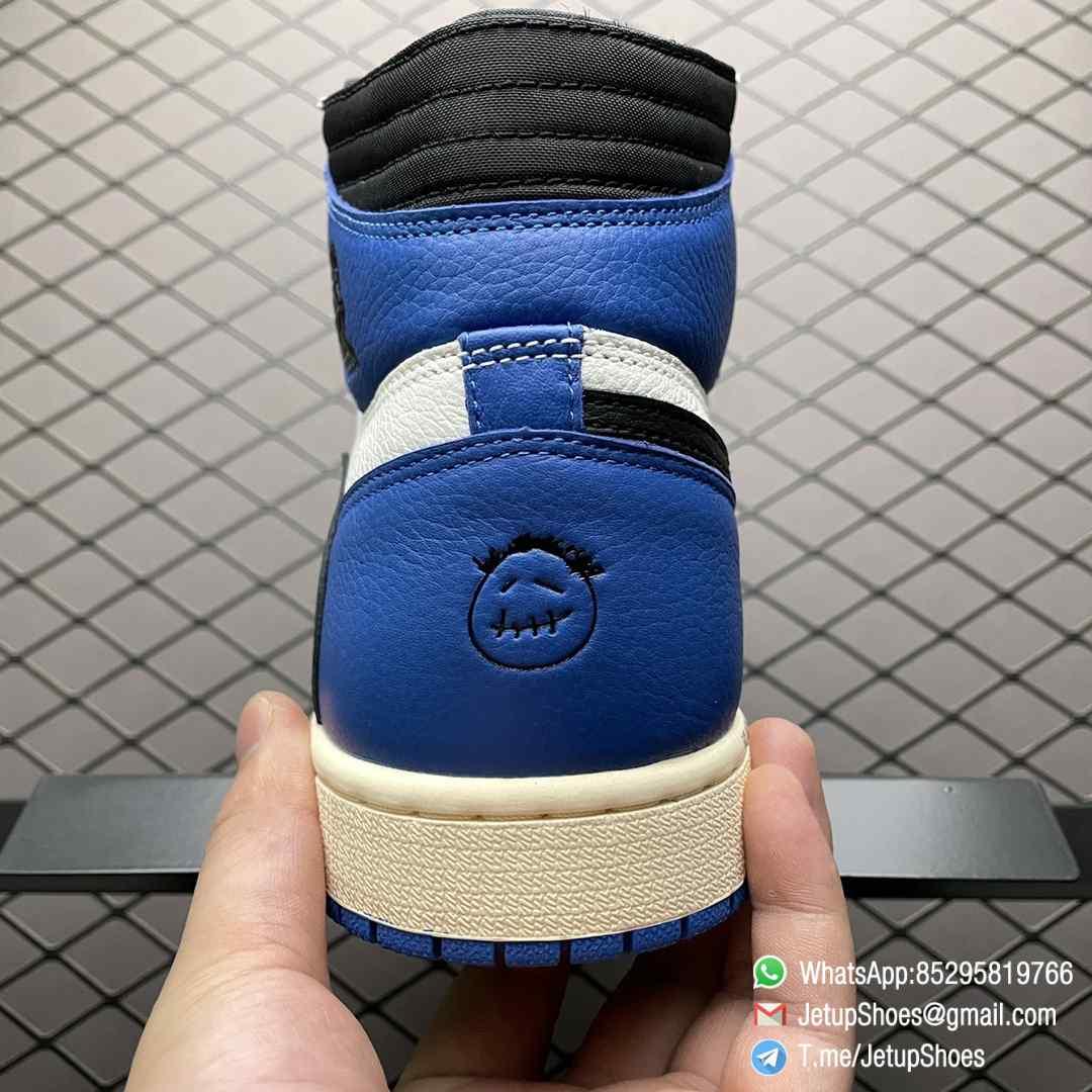 Top Fake Sneakers Fragment Design x Travis Scott x Air Jordan 1 Retro High SKU DH3227 105 Signature Inverted Swoosh 04