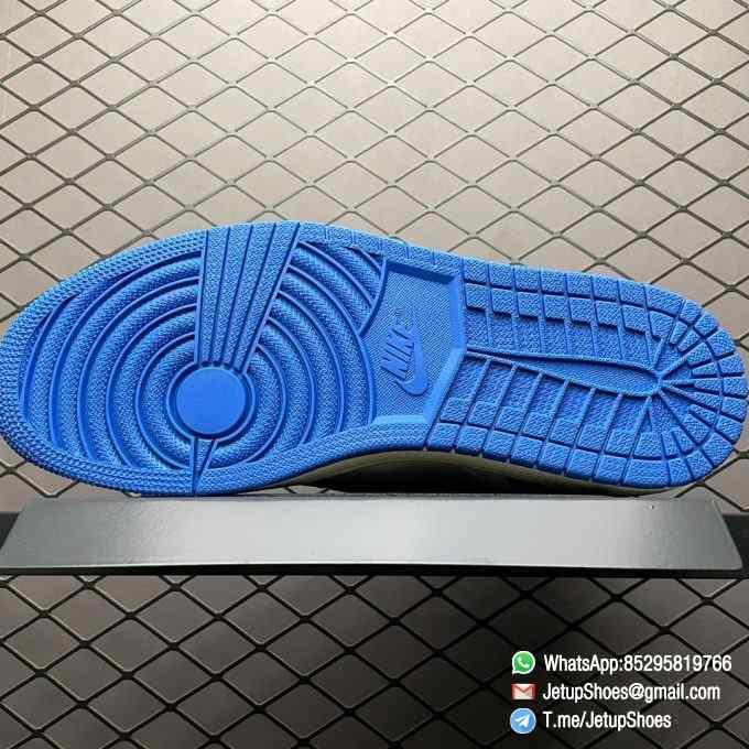Top Fake Sneakers Fragment Design x Travis Scott x Air Jordan 1 Retro High SKU DH3227 105 Signature Inverted Swoosh 05