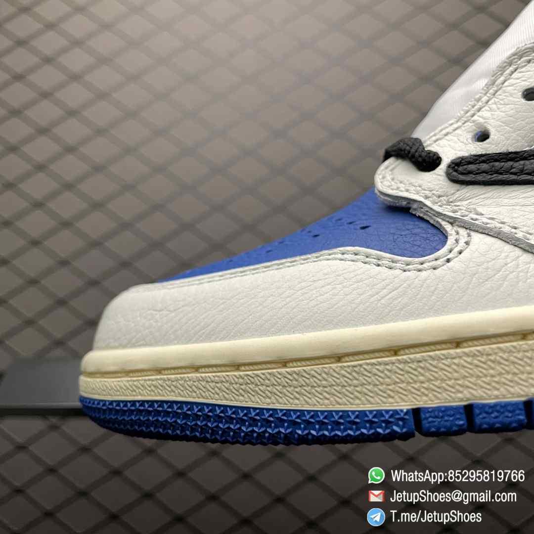 Top Fake Sneakers Fragment Design x Travis Scott x Air Jordan 1 Retro High SKU DH3227 105 Signature Inverted Swoosh 07