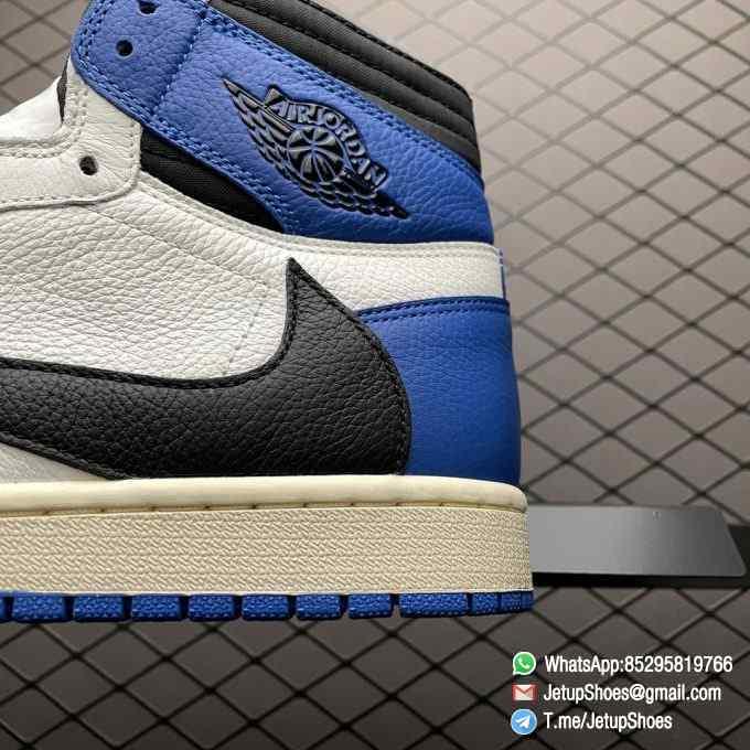 Top Fake Sneakers Fragment Design x Travis Scott x Air Jordan 1 Retro High SKU DH3227 105 Signature Inverted Swoosh 08